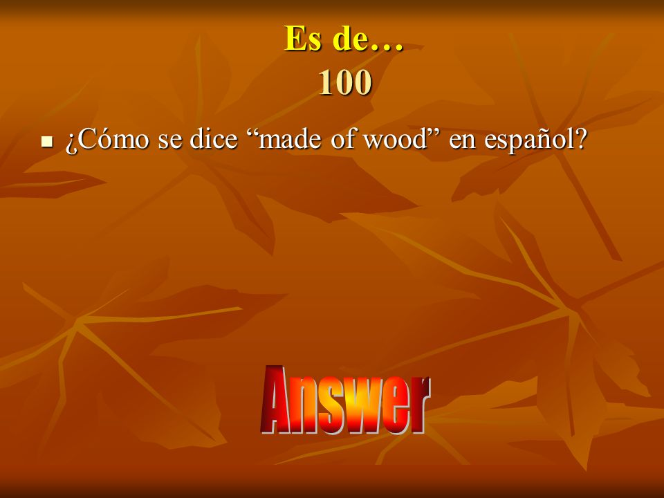 Answer 500 Único (a)