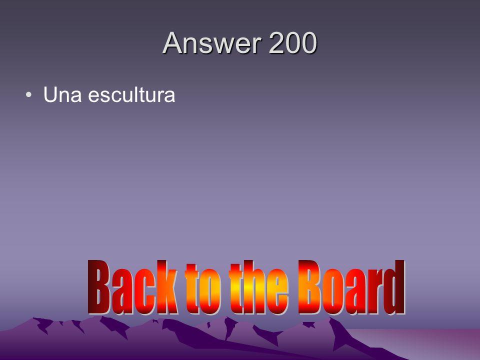 Answer 200 De oro De oro