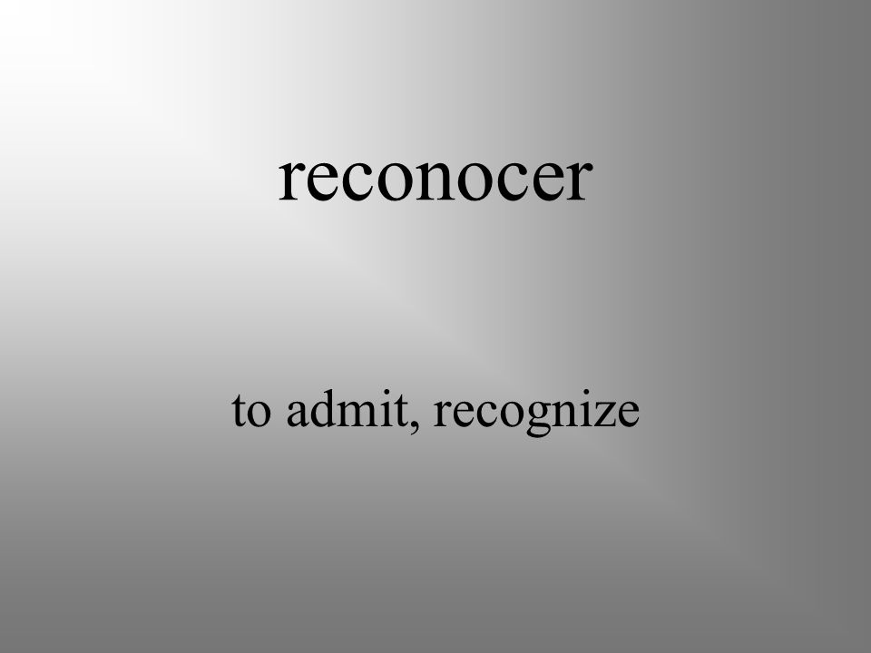 reconciliarse to become friends again, reconcile