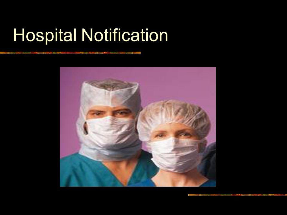 Hospital Notification