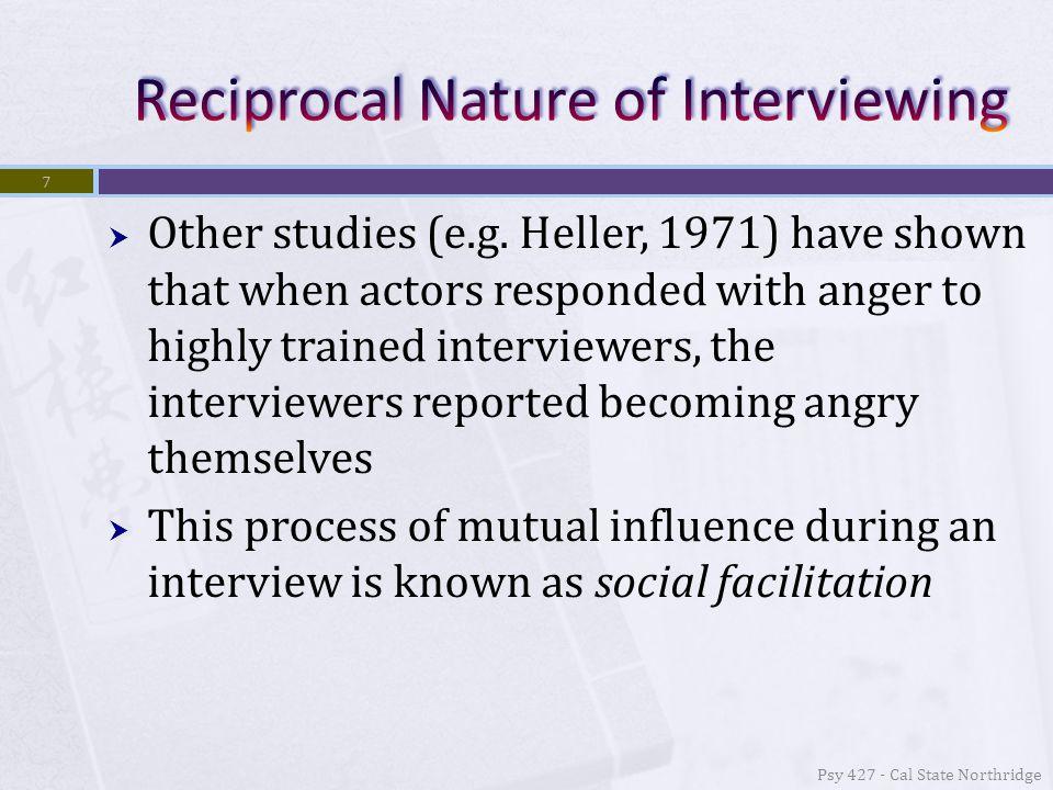  Social Facilitation  We tend to act like those around us.