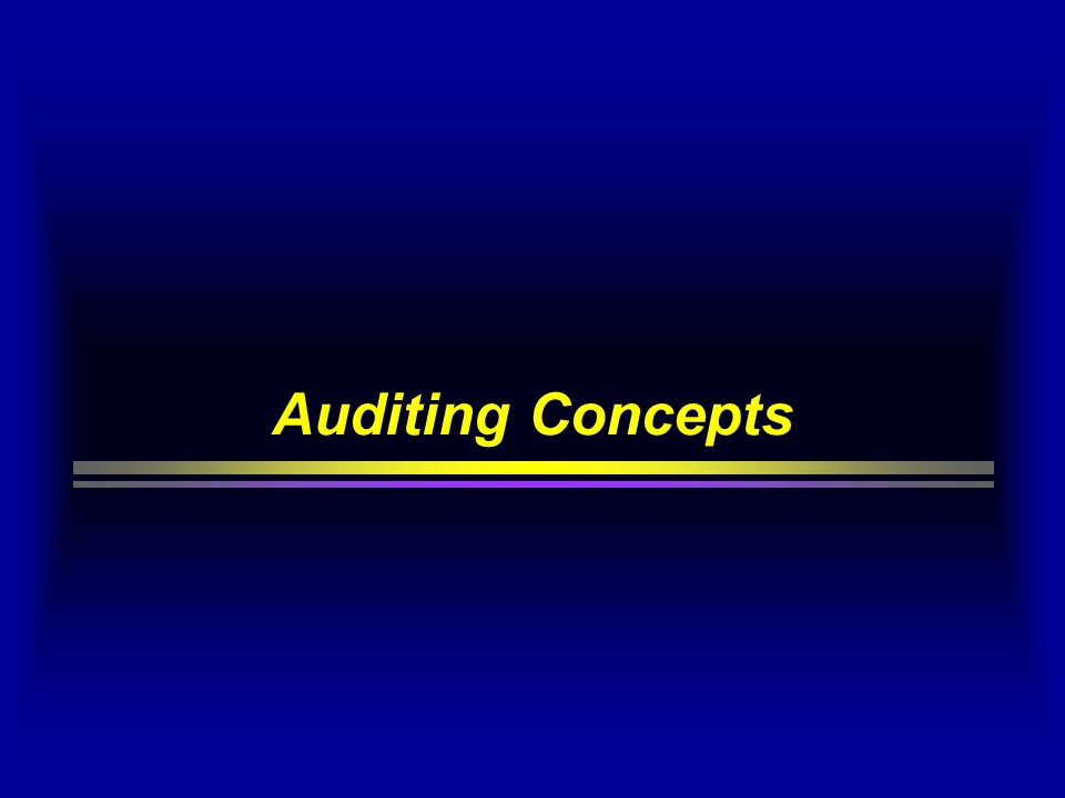 Understand the Control Structure In order to obtain an understanding of the control structure, the auditor needs information about:  the classes of transactions that are significant  how the transactions are initiated  the accounting records, supporting documents, machine- readable information and specific accounts involved in the processing and reporting of transactions  the accounting processing involved from the initiation of transactions, including how the computer is used to process data  the financial reporting process used to prepare the financial statements, including accounting estimates and disclosures