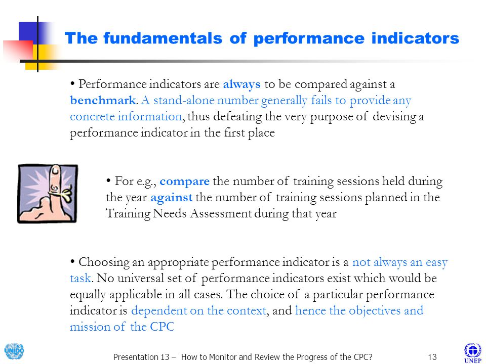 Presentation 13 – How to Monitor and Review the Progress of the CPC.