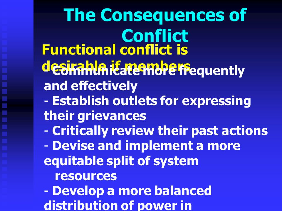 Conflict Resolution Strategies Two approaches are presented 1.