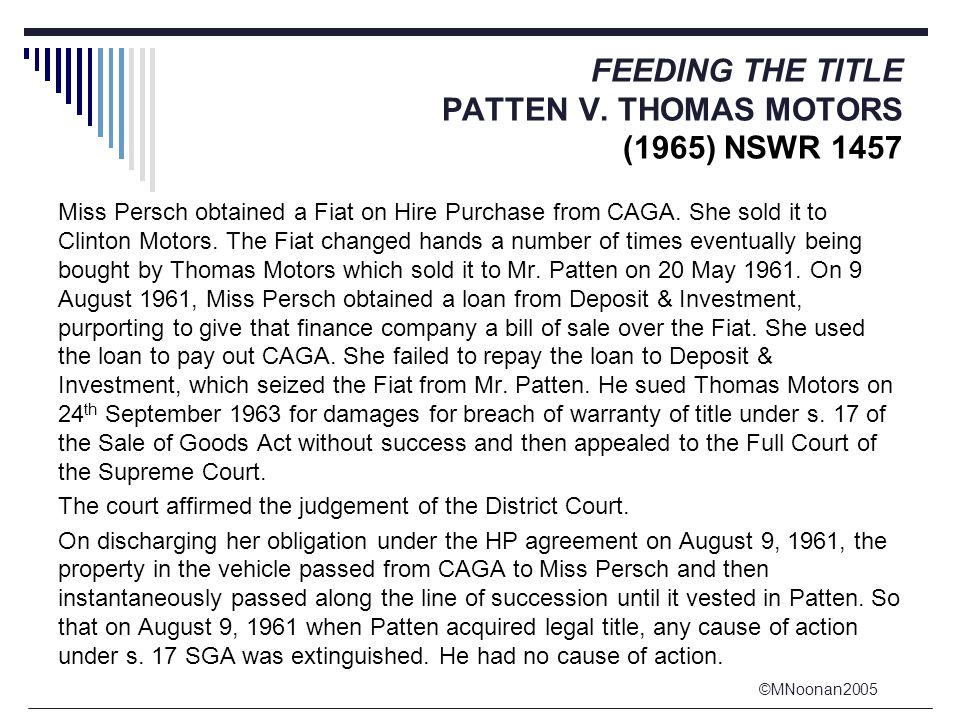 ©MNoonan2005 FEEDING THE TITLE PATTEN V.