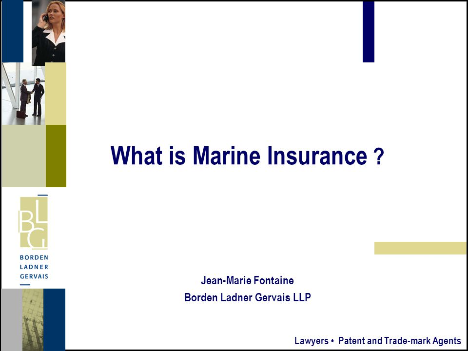 6 Summary Summary What is marine insurance. What is marine insurance.