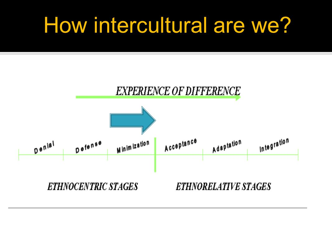 How intercultural are we?