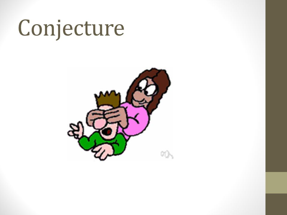Conjecture