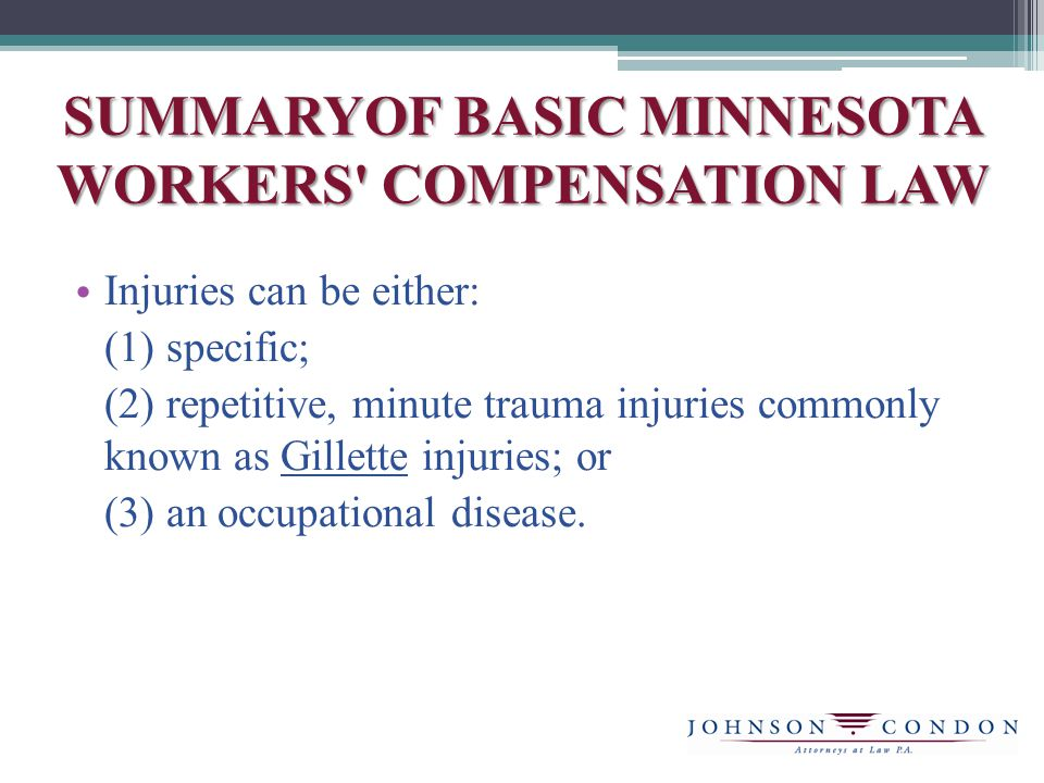 WAIVE AND WALK Waive and Walk – Minn.Stat.§176.061, subd.