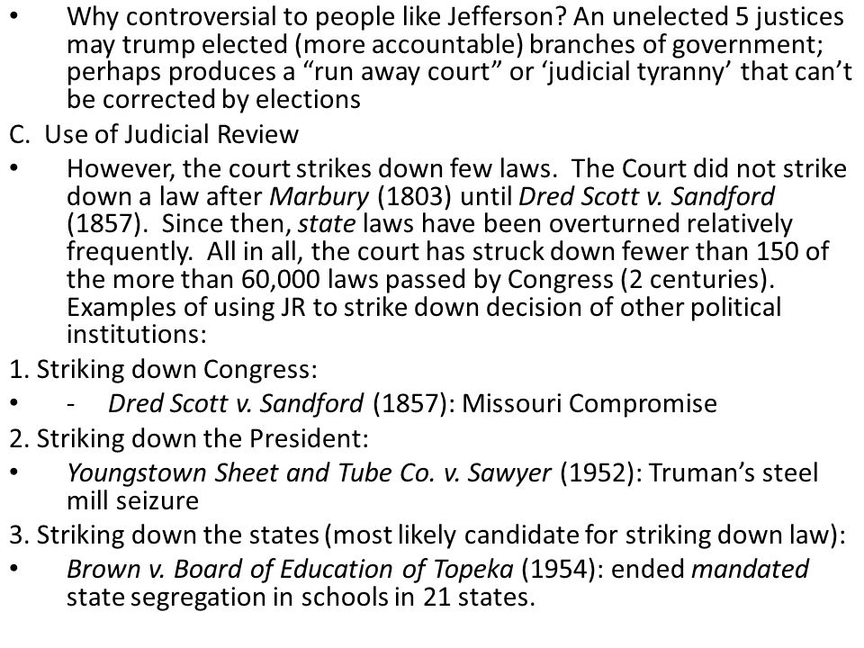 VII.Supreme Court Decision Making A.