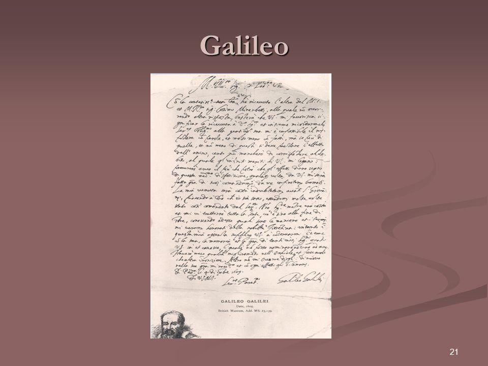 21 Galileo