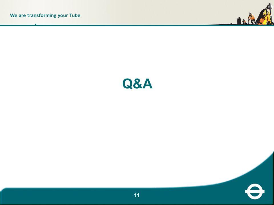 11 Q&A