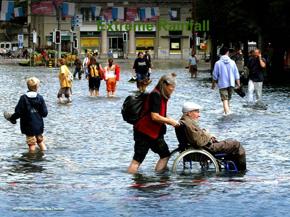 AP Photo/Keystone, Sigi Tischler Extreme Rainfall