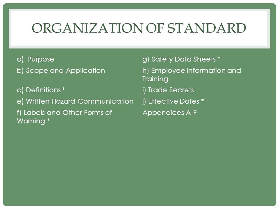 SECONDARY LABELING Employers have more flexibility.