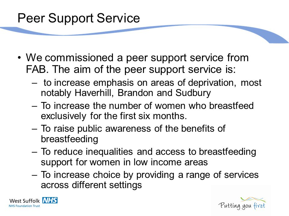 Community Setting Work within the community midwifery team as part of an integrated service.