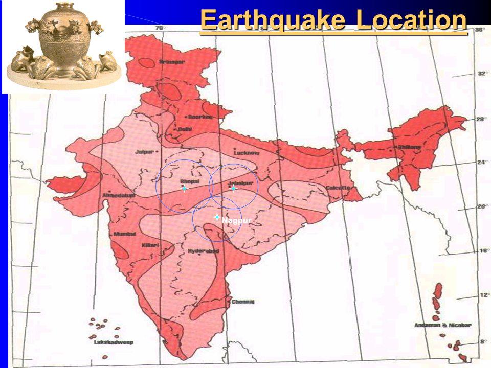 Nagpur Earthquake Location