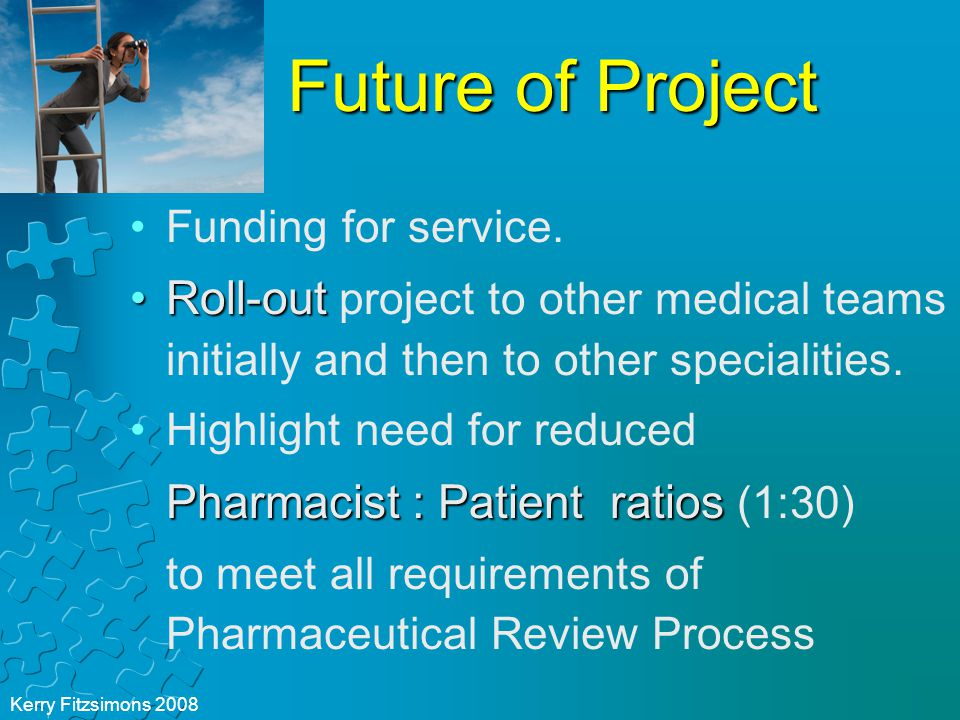 Future of Project Funding for service.