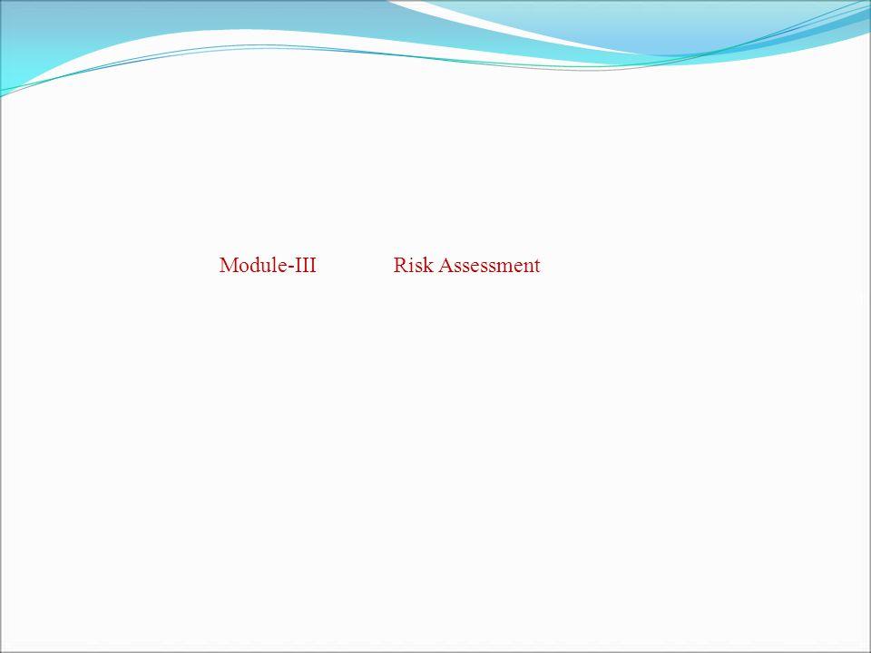 Module-IIIRisk Assessment