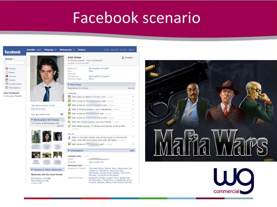 Facebook scenario