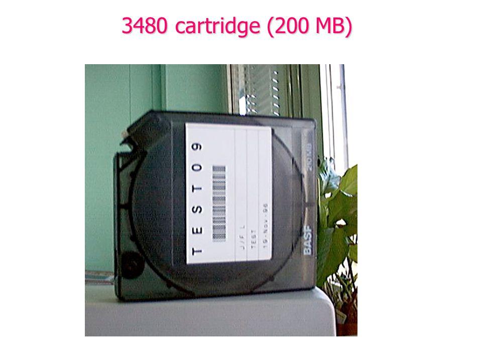 3480 cartridge (200 MB)