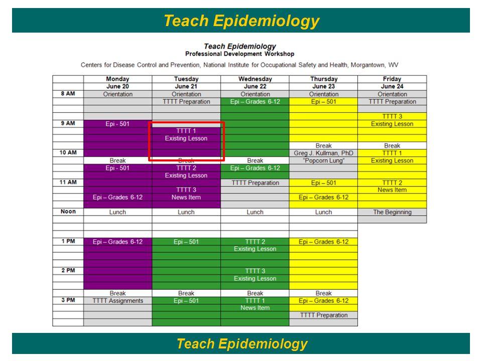 35 Teach Epidemiology