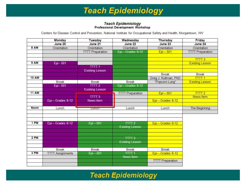 50 Teach Epidemiology