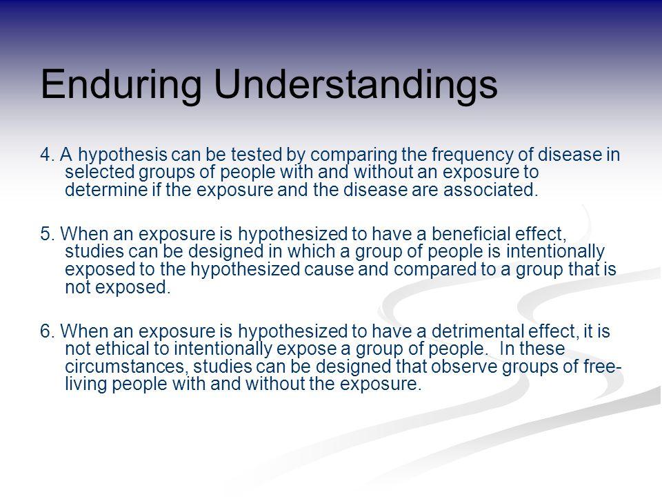Enduring Understandings 4.