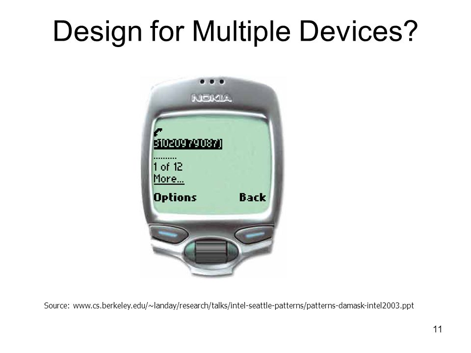 11 Design for Multiple Devices.