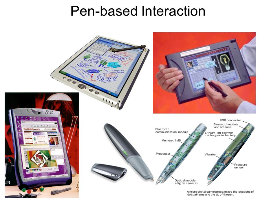 6 Pen-based Interaction