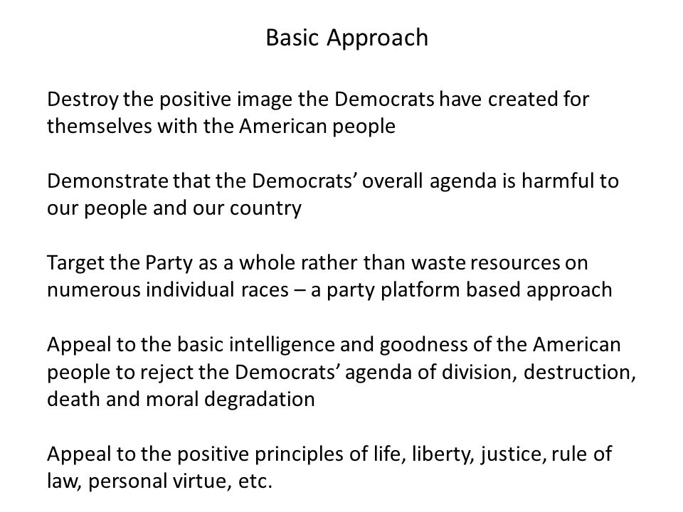 Why Running Against the Entire Democrat Agenda Matters Unless Constitutionalists can make the case that the routine violations of our Tenth Amendment protections are abusive of Americans, our progressive friends will continue to view their unlawful approaches to our problems as legitimate charity and conforming to Christian teaching.