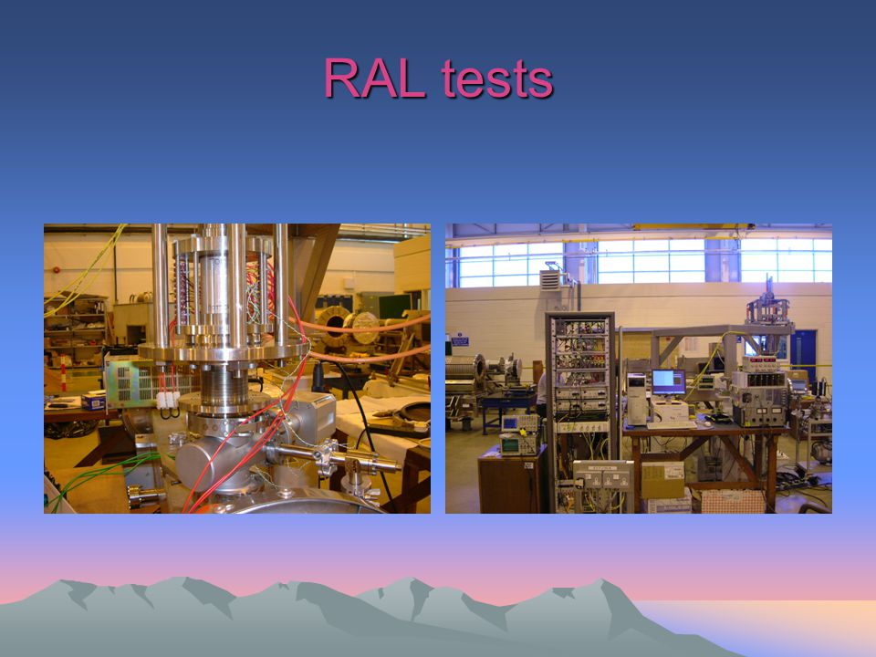 RAL tests
