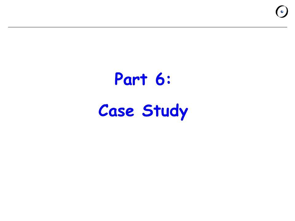 Part 6: Case Study