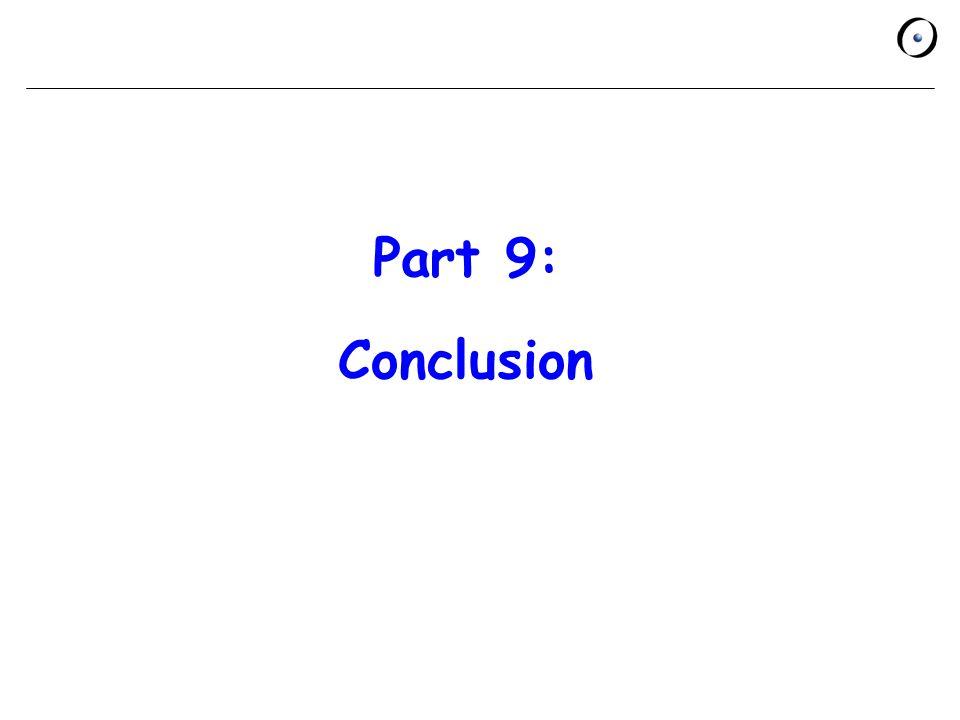 Part 9: Conclusion