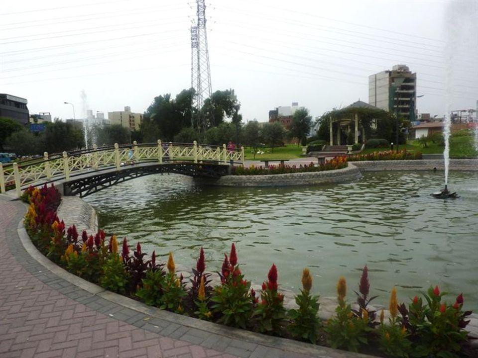 Parque del EjércitoThe Army Park