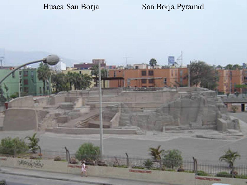 Huaca San BorjaPyramid