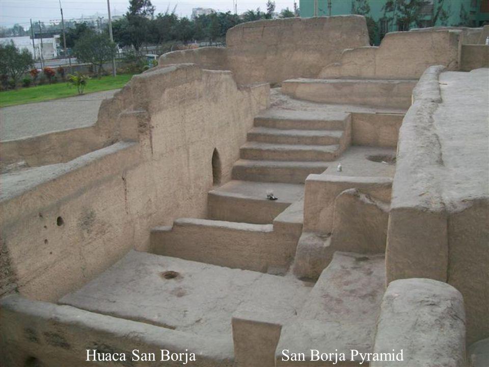 Huaca San BorjaSan Borja Pyramid