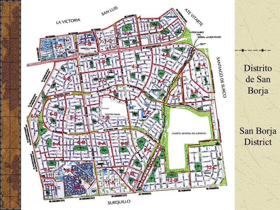 Distrito de San Borja San Borja District