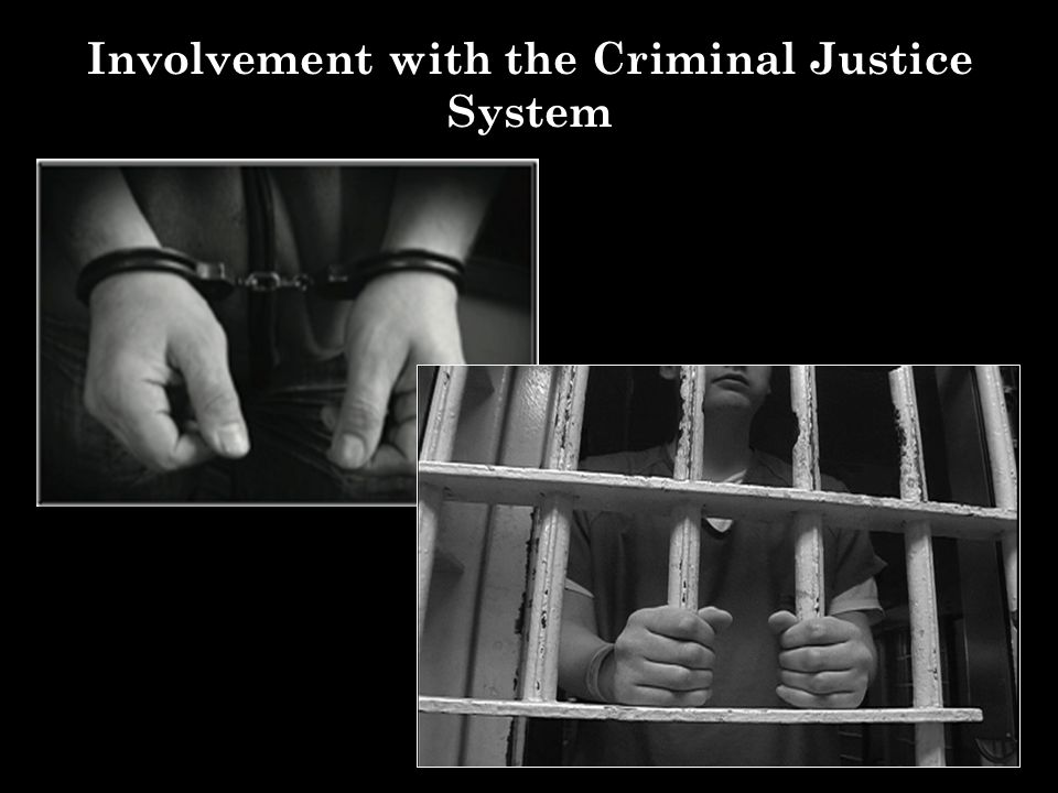 Involvement with the Criminal Justice System