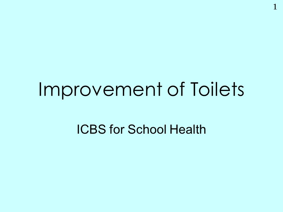 2 Improvement of Toilets is …  The most highly needed matter in the result of questionnaire held in the last April workshop  One of the most familiar and imminent problems in School Health SignificanceAspectsCheck & Evaluation