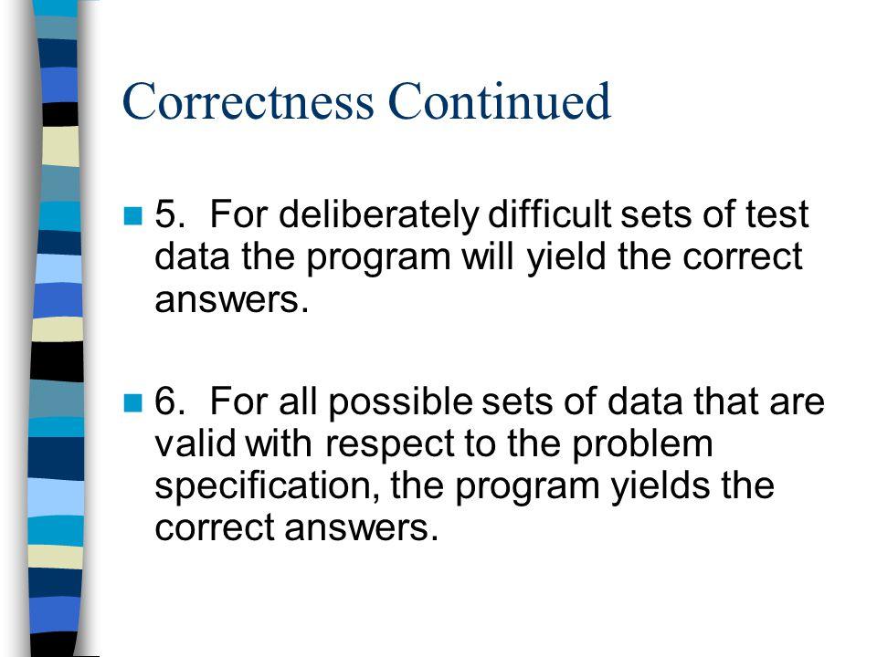 Function Testing Proof of Correctness vs.