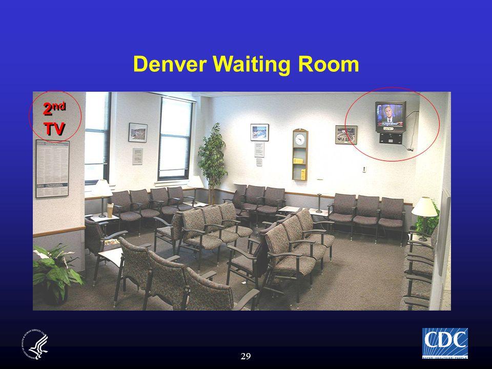 29 Denver Waiting Room 2 nd TV