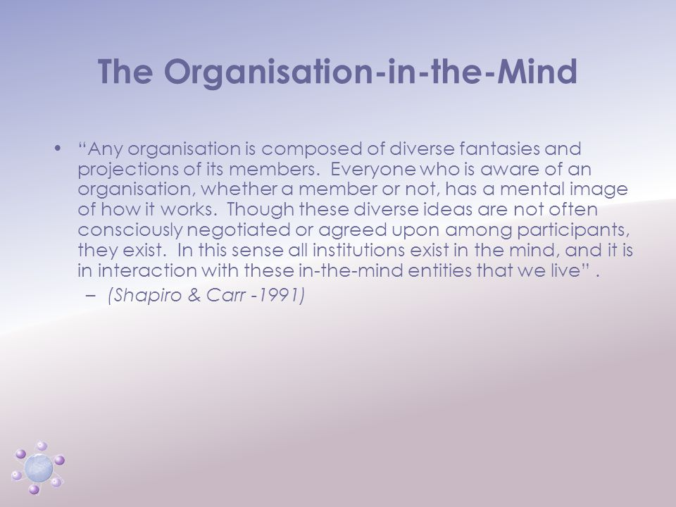 www.icbcoaching.com The Structure & Dynamics of Organisations and Groups Public structure Private structure What we can see Informs our decision Imago – the mental picture we hold in our own head about how the system is or should be