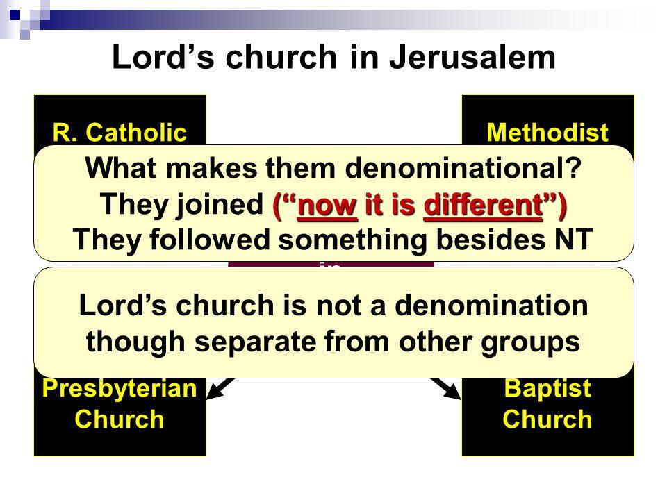 Lord's church in Jerusalem Church in Jerusalem Presbyterian Church R.
