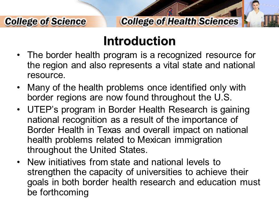Border Health - FTE