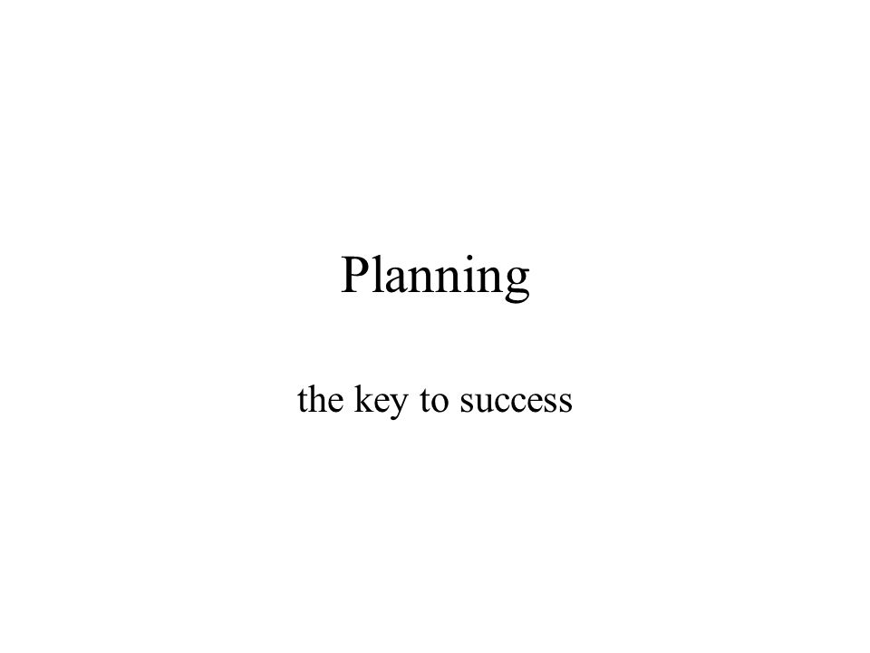 Active collective planning prerequisite of making realistic plans higher degree of commitment improves quality of plans improved communication about plans: ensure effective regulation of the process shared feeling of the responsibility See management principles 7, 8, 10