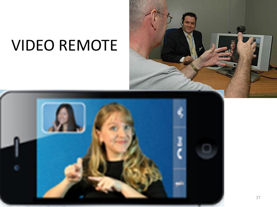 VIDEO REMOTE 37