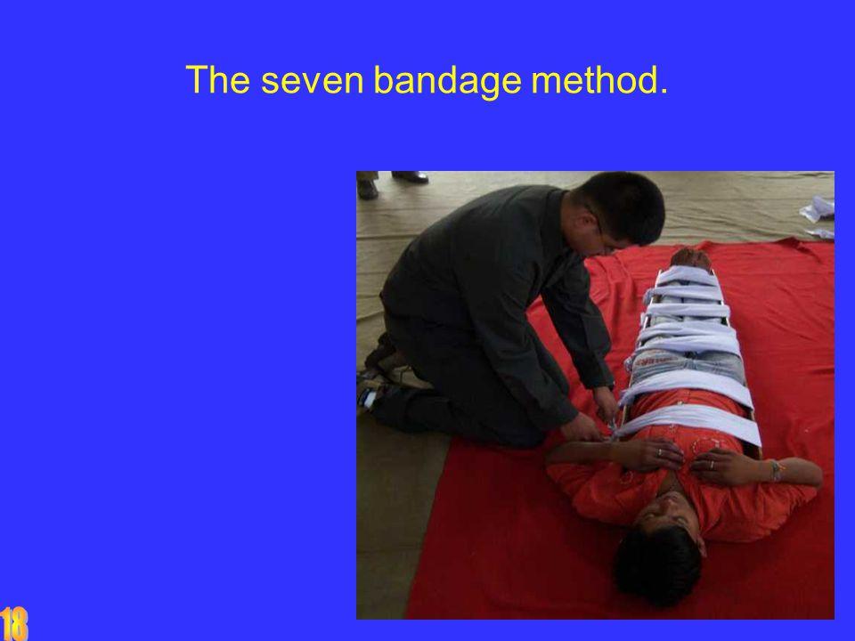 The seven bandage method.