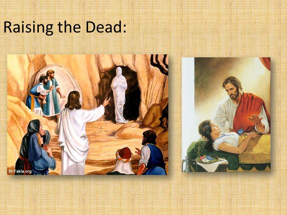 Raising the Dead: