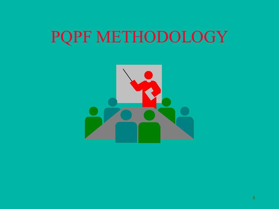 6 PQPF METHODOLOGY