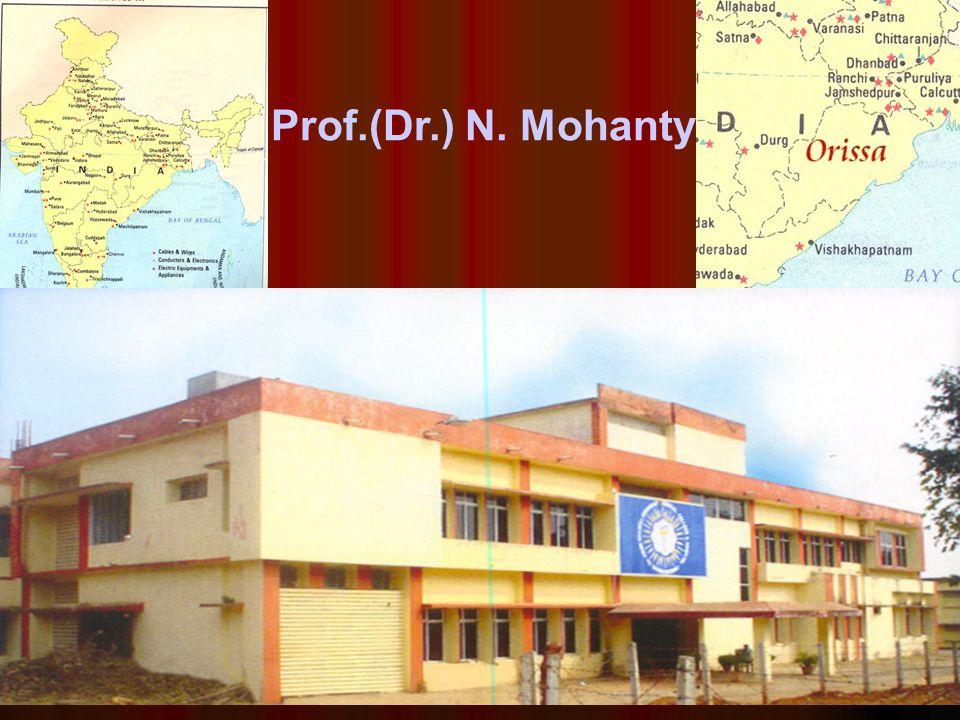 Prof.(Dr.) N. Mohanty